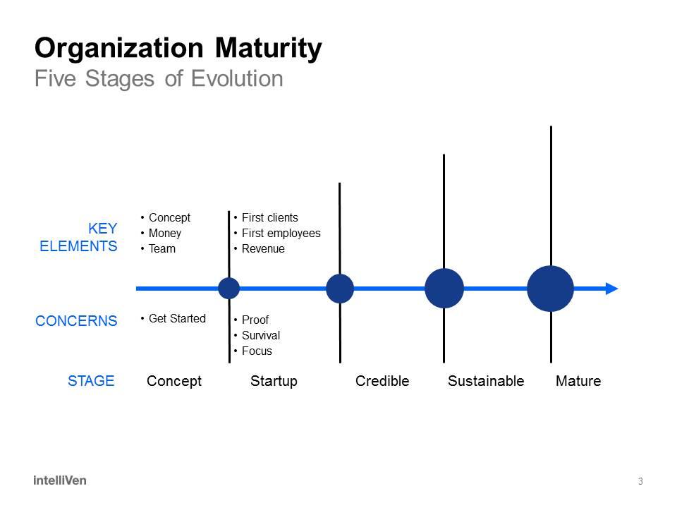 Organization Maturity - Start-up Stage