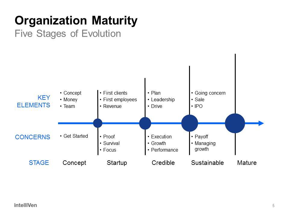 Organization Maturity - Sustainable Stage